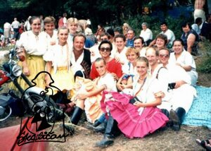 1989 - zájazd do Bulharska, Burgas 1989  Bulgarien Internationales Volklorefestival - BURGAS